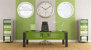 green wall office interior design 3d house free 3d