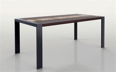 tavoli in metallo tavolo rettangolare struttura in metallo piano in legno