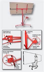 plattenheber knauf plattenheber paneelheber rigipsplatte montagehilfe