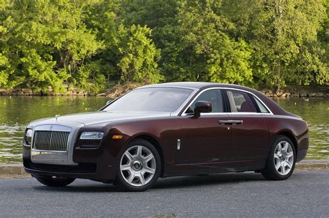 roll royce brown ghost coupe to be fastest rolls royce ever autoblog