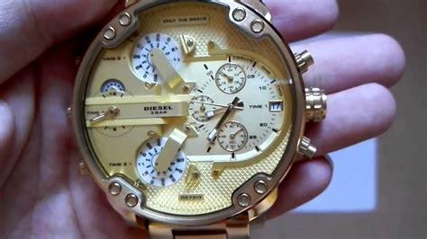 Diesel Gold diesel mr 20 57mm dz7313 gold watches relogio