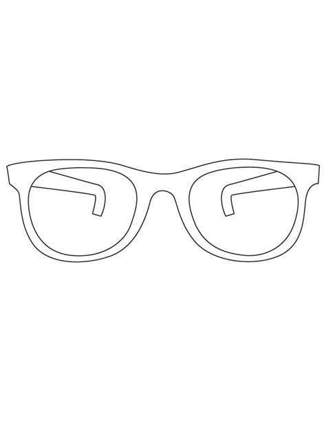coloring page sunglasses sunglasses coloring pages download free sunglasses