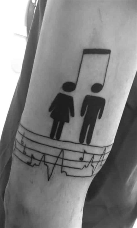 couple tattoo music music tattoos for men ideas and inspiration for guys