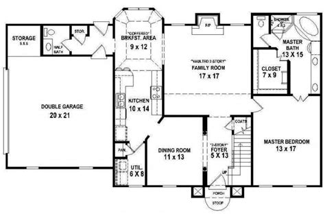 4 bedroom 2 bath house plans awesome floor plans for a 4 bedroom 2 bath house