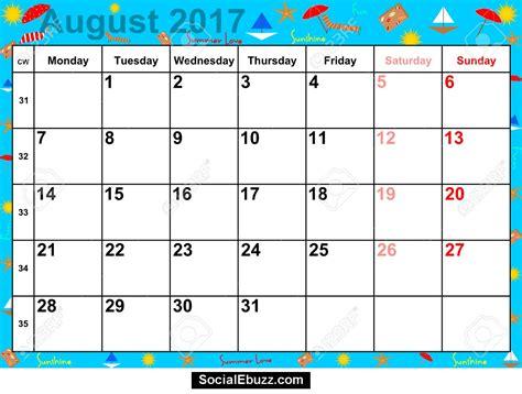 printable calendar august august calendar 2017 http socialebuzz com august 2017