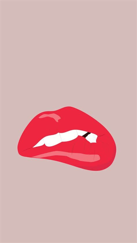 wallpaper for iphone 6 lips girly phone wallpapers wallpaper funny lock screen