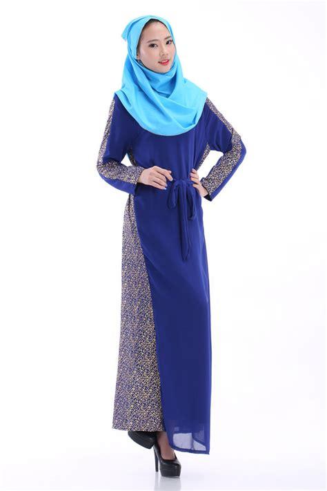 Maxi Dress Busana Muslim kilimall muslim dress muslim sleeve maxi dress robes muslim robes black m 607900