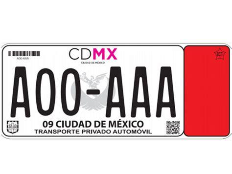 placas para vehiculos michoacan mx nuevas placas cdmx 1 9