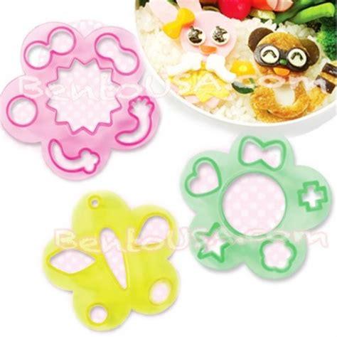 Japanese Ham Cheese Food Bento Cutter Panda Buterfly Flower decorative bento cutter ham cheese cutter set 18 shapes for bento