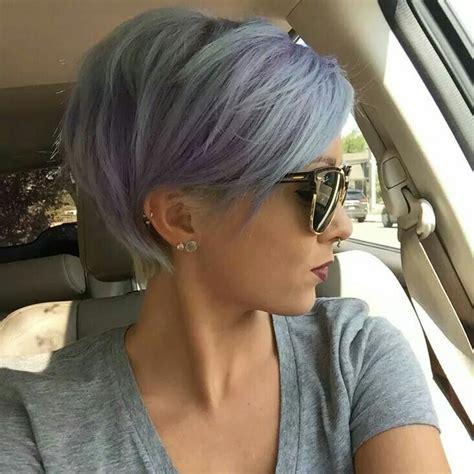 periwinkle hair cuts funky pastel hair periwinkle coiffure pinterest