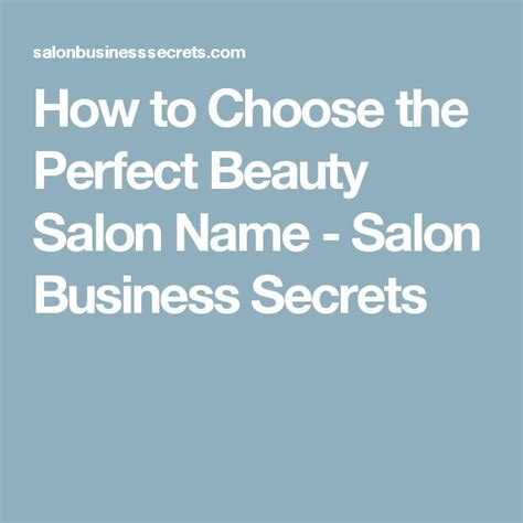 cute names for hair salons 25 best ideas about salon names on pinterest hair salon