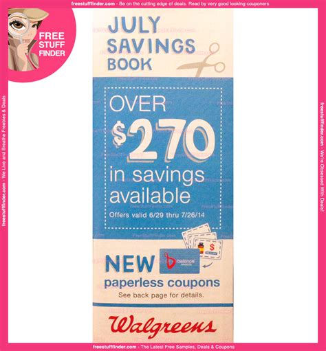 walgreens picture book walgreens monthly savings book july advanced ad
