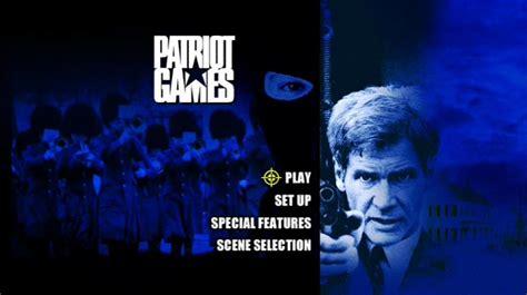 Patriot Games 1992 Full Movie Patriot Games 1992 Dvd Movie Menus