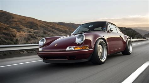 singer porsche red two new porsche 911s by singer revealed you want them