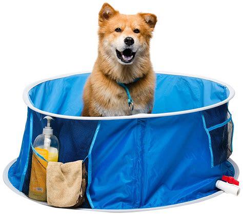 vasca per cani vasca da bagno per cani coccola il peloso con le bolle