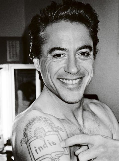 robert downey jr tattoo robert downey jr tattoos and