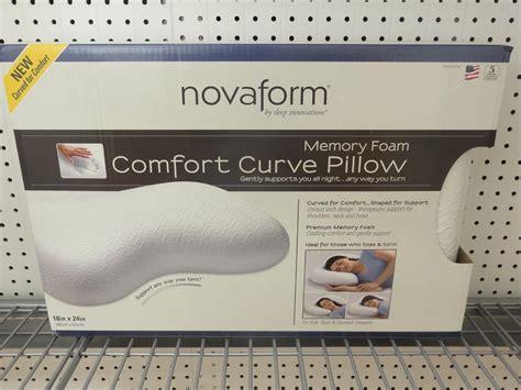 New Novaform Memory Foam Comfort Curve Pillow 18 Quot X 24