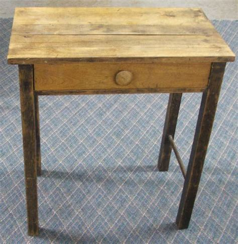 Small Wooden Desks Small Primitive Wooden Desk Must Be Picked Up
