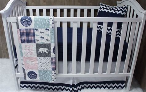 moose baby bedding 1000 images about custom made crib bedding nursery