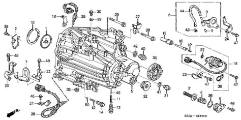 diagram of how a 1999 acura nsx transmission is removed how to remove the crossmember for a