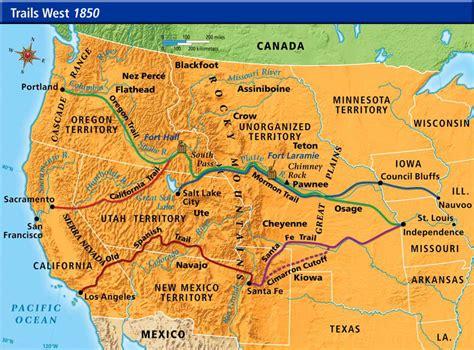 Trails West 1850