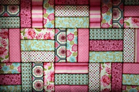 Michael Miller Quilt Patterns michael miller pinks blossom quilt vanilla
