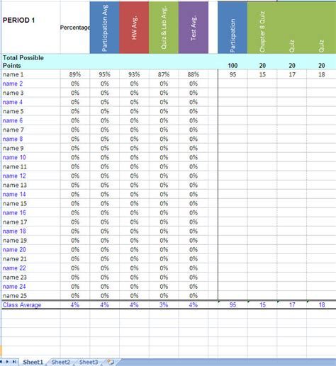 grading template search results for gradebook sheets printable calendar