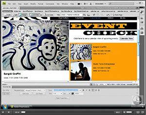 dreamweaver tutorial adobe tv dreamweaver cs4 free video tutorials and feature videos