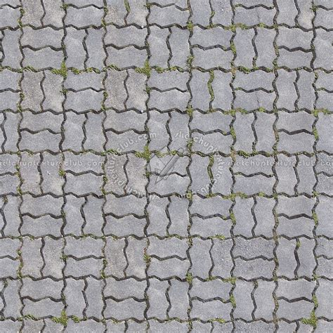 Baju Pria 3d Paving Block Blue pavers regular blocks texture seamless 06401
