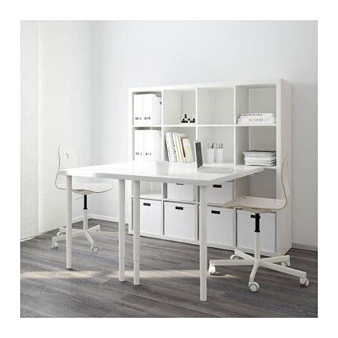 escritorio kallax kallax combinaci 243 n escritorio blanco ikea espacios