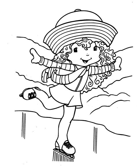 Free Printable Strawberry Shortcake Coloring Pages For Kids Strawberry Shortcake Colouring Pages To Print
