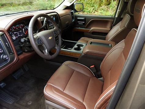 High Country Interior by Chevy S 2014 Silverado High Country Has Comfort And