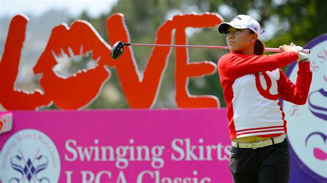 swinging skirts foundation lydia ko leads by one after opening round of swinging