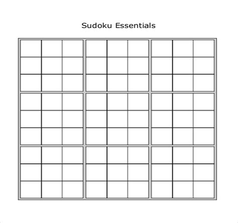 printable sudoku book pdf prinable sudoku templates 15 free word pdf documents