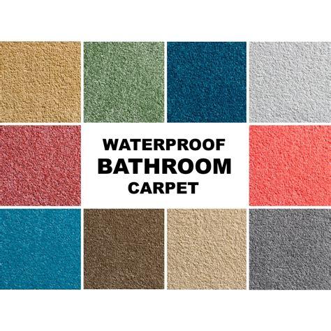 bathtub carpet sample waterproof bathroom carpet gel waffle back soft
