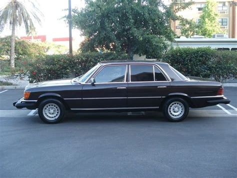 1980 mercedes 300sd sell used 1980 mercedes 300sd turbo diesel w116