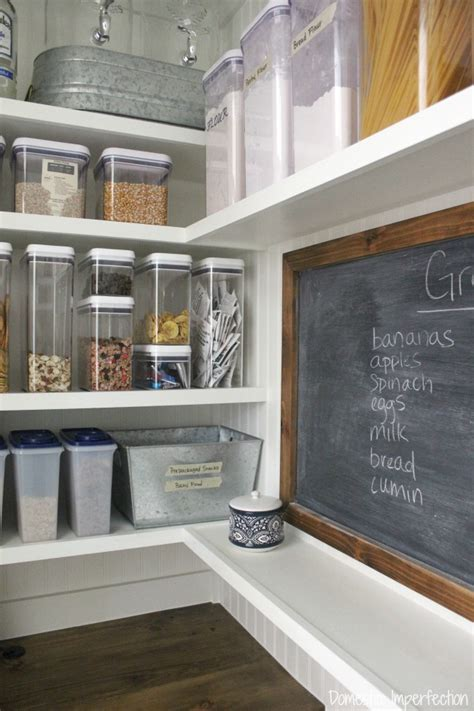 organized pantry   world domestic imperfection