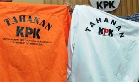 email kpk sangat memalukan baju tahanan kpk jadi tren