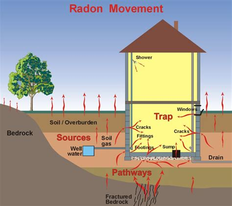 radstar radon movement diagram electronic radon monitor