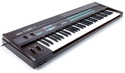 Keyboard Yamaha Dx7 yamaha dx7 vintage synth explorer
