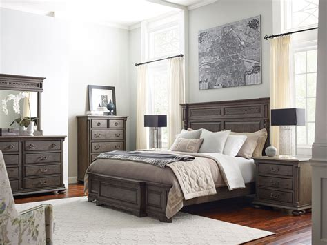 logan bedroom furniture greyson logan panel bedroom set from kincaid furniture