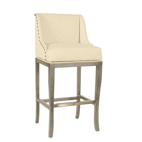 bar stools for 44 inch counter marcello barstool with pewter nailhead trim price 524 00