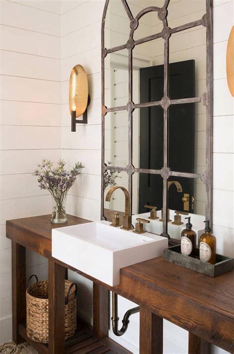 industrial bathroom mirror salle de bain rustique 46 id 233 es inspirations photos