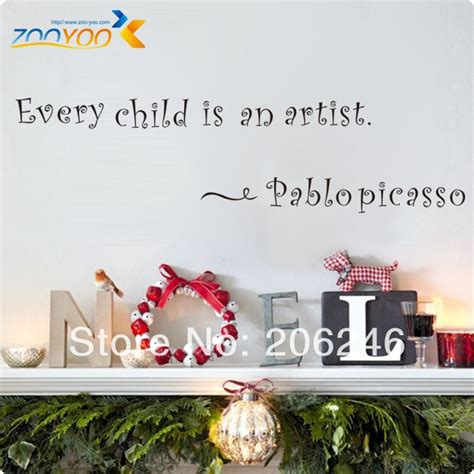 home decorators free shipping code 2013 free shipping every child is an artist english quote vinyl