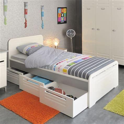 tete de lit en bois blanc 1190 metal lit 3 tiroirs 1 chevet et 1 commode enfant achat