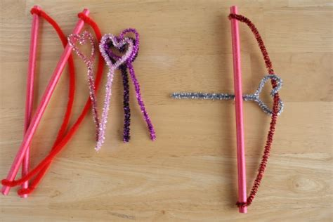 bow and arrow craft for cupid s crafty bow and arrows make and takes