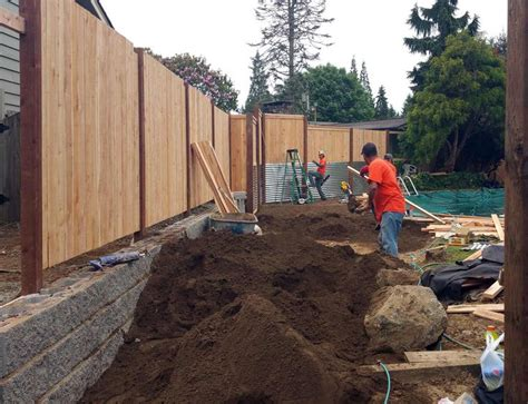 How To Regrade A Backyard by After Removing The Bamboo Infestation We Regraded The