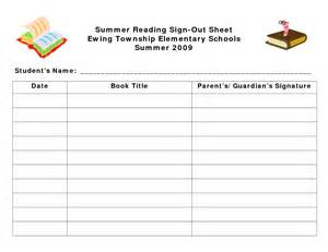 Book Sign Out Sheet Template by Best Photos Of Library Sign Out Forms Classroom Sign Out