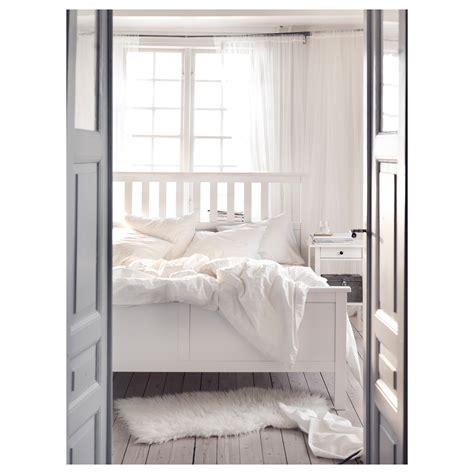 Hemnes White Bed Frame Hemnes Bed Frame White Stain L 246 Nset Standard Ikea