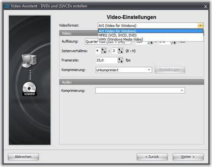 format das jeder dvd player abspielt weitere videoformate